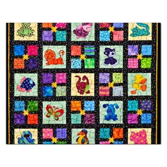 Animal Party Pattern Rectangular Jigsaw Puzzl