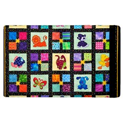 Animal Party Pattern Apple Ipad 3/4 Flip Case by BangZart