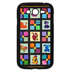 Animal Party Pattern Samsung Galaxy Grand Duos I9082 Case (black)