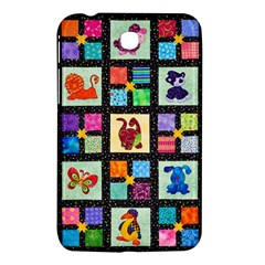 Animal Party Pattern Samsung Galaxy Tab 3 (7 ) P3200 Hardshell Case  by BangZart