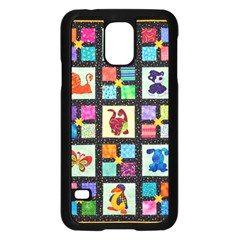 Animal Party Pattern Samsung Galaxy S5 Case (black) by BangZart
