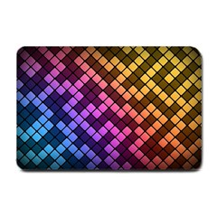 Abstract Small Block Pattern Small Doormat  by BangZart