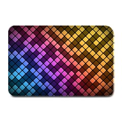 Abstract Small Block Pattern Plate Mats by BangZart