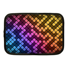 Abstract Small Block Pattern Netbook Case (medium)  by BangZart