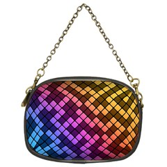 Abstract Small Block Pattern Chain Purses (two Sides)  by BangZart