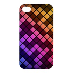 Abstract Small Block Pattern Apple Iphone 4/4s Hardshell Case by BangZart