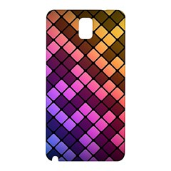 Abstract Small Block Pattern Samsung Galaxy Note 3 N9005 Hardshell Back Case by BangZart