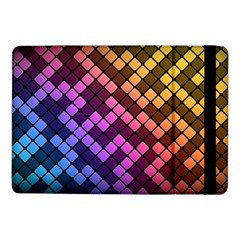 Abstract Small Block Pattern Samsung Galaxy Tab Pro 10 1  Flip Case by BangZart