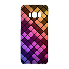 Abstract Small Block Pattern Samsung Galaxy S8 Hardshell Case  by BangZart
