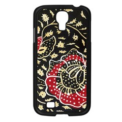 Art Batik Pattern Samsung Galaxy S4 I9500/ I9505 Case (black)