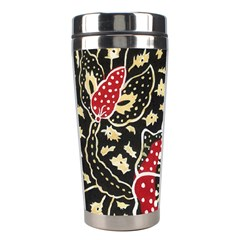 Art Batik Pattern Stainless Steel Travel Tumblers