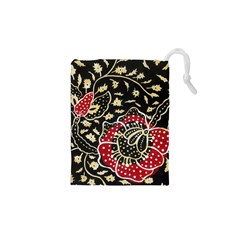 Art Batik Pattern Drawstring Pouches (xs)