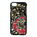Art Batik Pattern Apple iPhone 7 Seamless Case (Black) Front