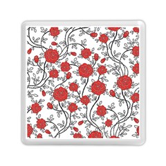 Texture Roses Flowers Memory Card Reader (square)  by BangZart