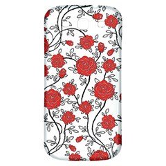 Texture Roses Flowers Samsung Galaxy S3 S Iii Classic Hardshell Back Case by BangZart