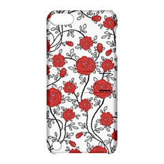 Texture Roses Flowers Apple Ipod Touch 5 Hardshell Case With Stand