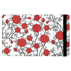 Texture Roses Flowers Apple Ipad Pro 9 7   Flip Case by BangZart