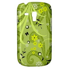 Flowers On A Green Background                      Samsung Galaxy Ace Plus S7500 Hardshell Case by LalyLauraFLM