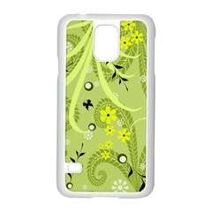 Flowers On A Green Background                      Motorola Moto G (1st Generation) Hardshell Case by LalyLauraFLM