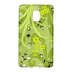 Flowers On A Green Background                      Samsung Galaxy Note 4 Leather Folio by LalyLauraFLM