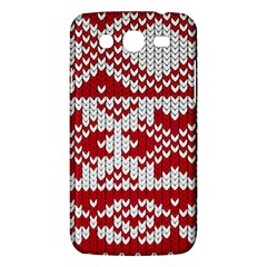 Crimson Knitting Pattern Background Vector Samsung Galaxy Mega 5 8 I9152 Hardshell Case