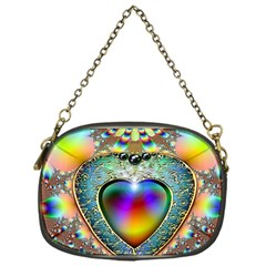 Rainbow Fractal Chain Purses (one Side)  by BangZart