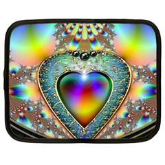 Rainbow Fractal Netbook Case (xxl)