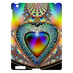 Rainbow Fractal Apple Ipad 3/4 Hardshell Case