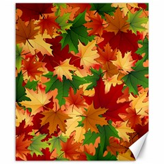 Autumn Leaves Canvas 8  X 10  by BangZart