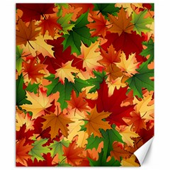 Autumn Leaves Canvas 20  X 24   by BangZart