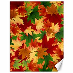 Autumn Leaves Canvas 36  X 48   by BangZart