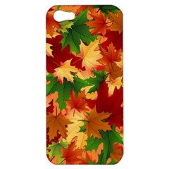 Autumn Leaves Apple Iphone 5 Hardshell Case by BangZart