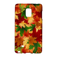 Autumn Leaves Galaxy Note Edge by BangZart