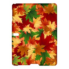 Autumn Leaves Samsung Galaxy Tab S (10 5 ) Hardshell Case  by BangZart