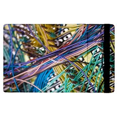 Circuit Computer Apple Ipad 2 Flip Case by BangZart