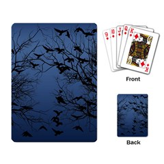 Crow Flock  Playing Card