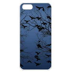 Crow Flock  Apple Iphone 5 Seamless Case (white)