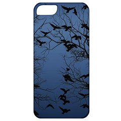 Crow Flock  Apple Iphone 5 Classic Hardshell Case by Valentinaart