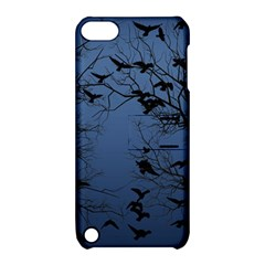 Crow Flock  Apple Ipod Touch 5 Hardshell Case With Stand