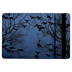 Crow Flock  Ipad Air Flip by Valentinaart