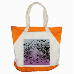 Crow Flock  Accent Tote Bag by Valentinaart
