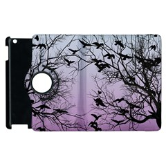 Crow Flock  Apple Ipad 2 Flip 360 Case