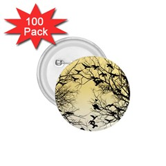Crow Flock  1 75  Buttons (100 Pack)