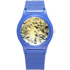 Crow Flock  Round Plastic Sport Watch (s)