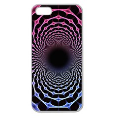Spider Web Apple Seamless Iphone 5 Case (clear) by BangZart