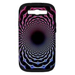 Spider Web Samsung Galaxy S Iii Hardshell Case (pc+silicone) by BangZart