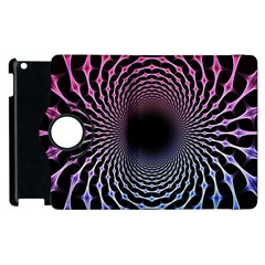 Spider Web Apple Ipad 3/4 Flip 360 Case by BangZart