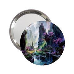 Fantastic World Fantasy Painting 2 25  Handbag Mirrors