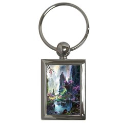 Fantastic World Fantasy Painting Key Chains (rectangle)  by BangZart
