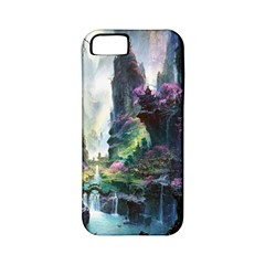 Fantastic World Fantasy Painting Apple Iphone 5 Classic Hardshell Case (pc+silicone) by BangZart